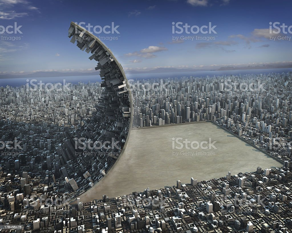 Urban development stock photo