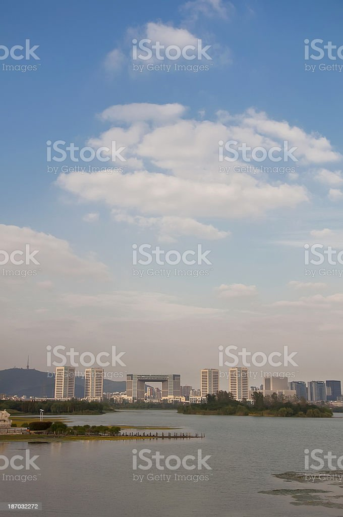 Urban ecological environment royalty-free stock photo