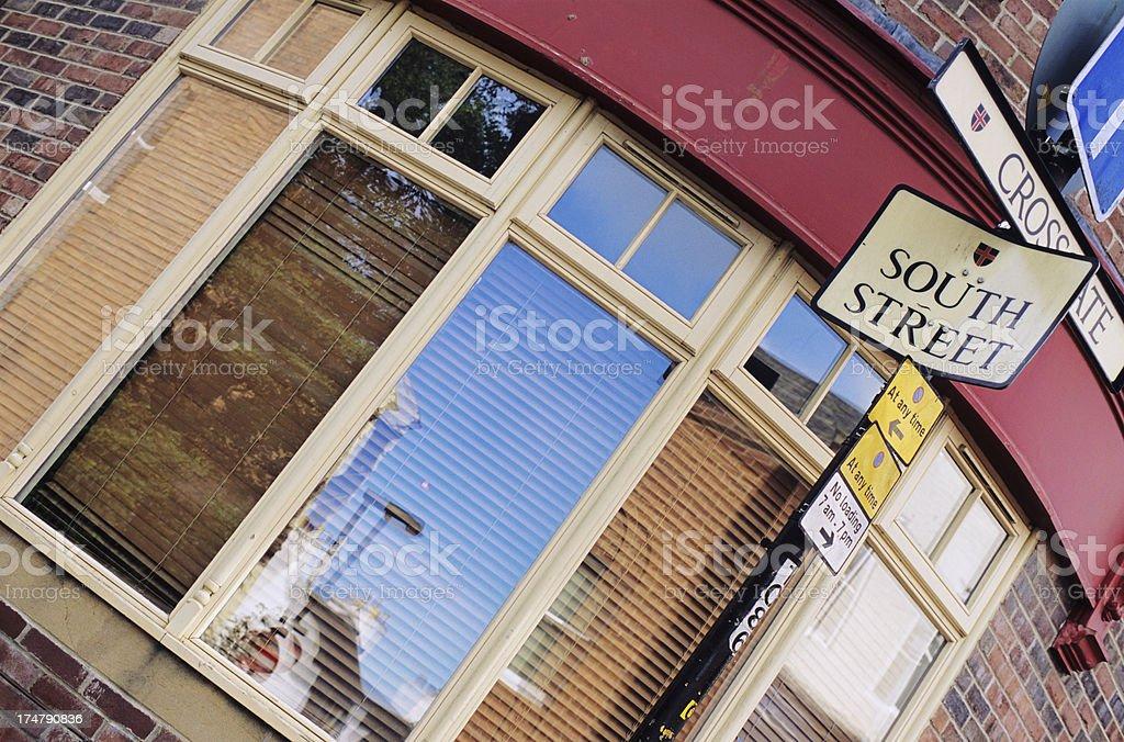 Urban English corner - Scorcio urbano inglese stock photo
