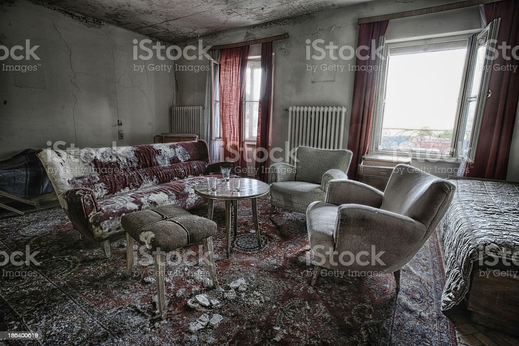 Urban exploring royalty-free stock photo