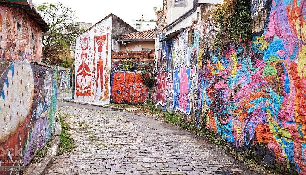 Urban expression stock photo