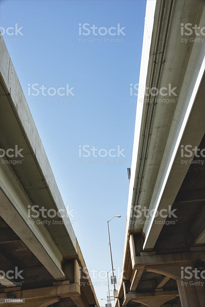 Urban Expressway Overpass royalty-free stock photo