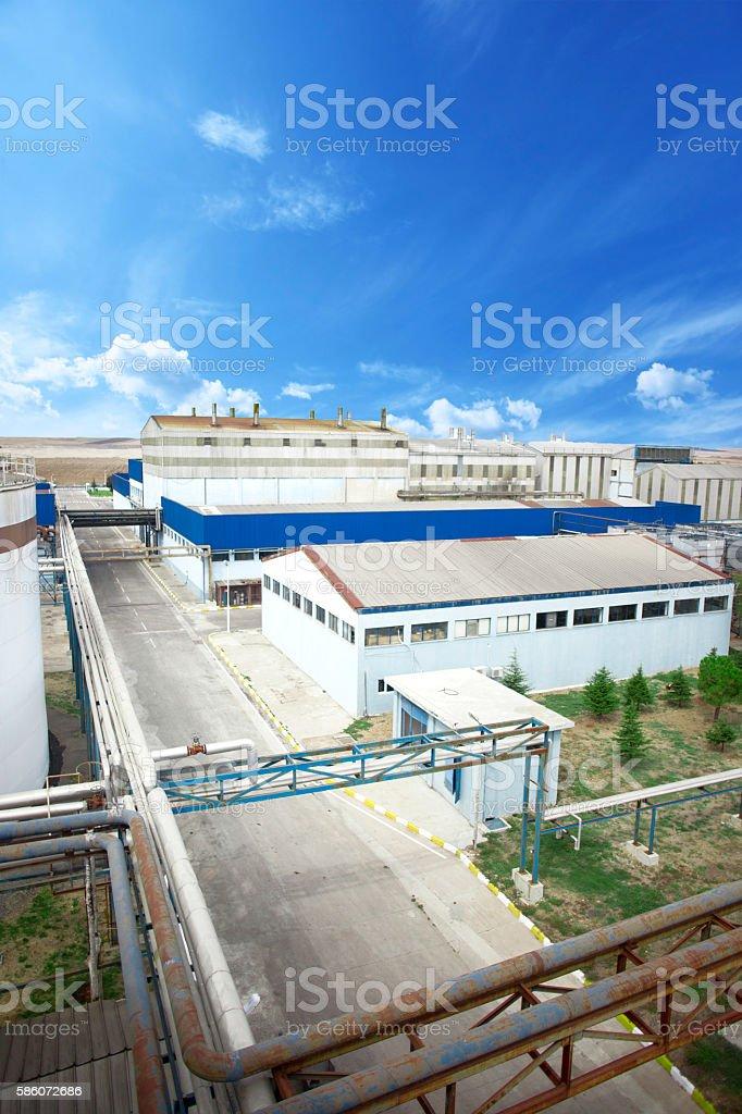 Urban Factory stock photo