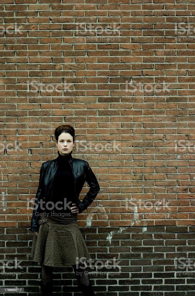 Urban Fashion Style royalty-free stock photo