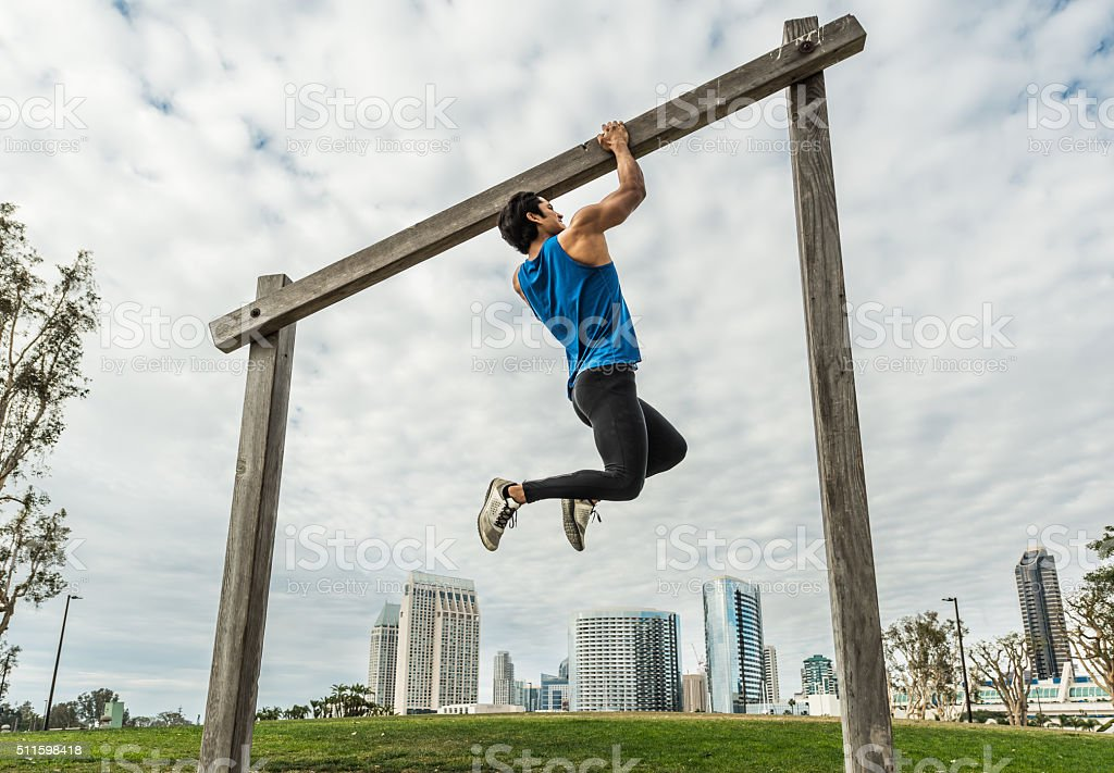 Urban Fitness Training Course stock photo