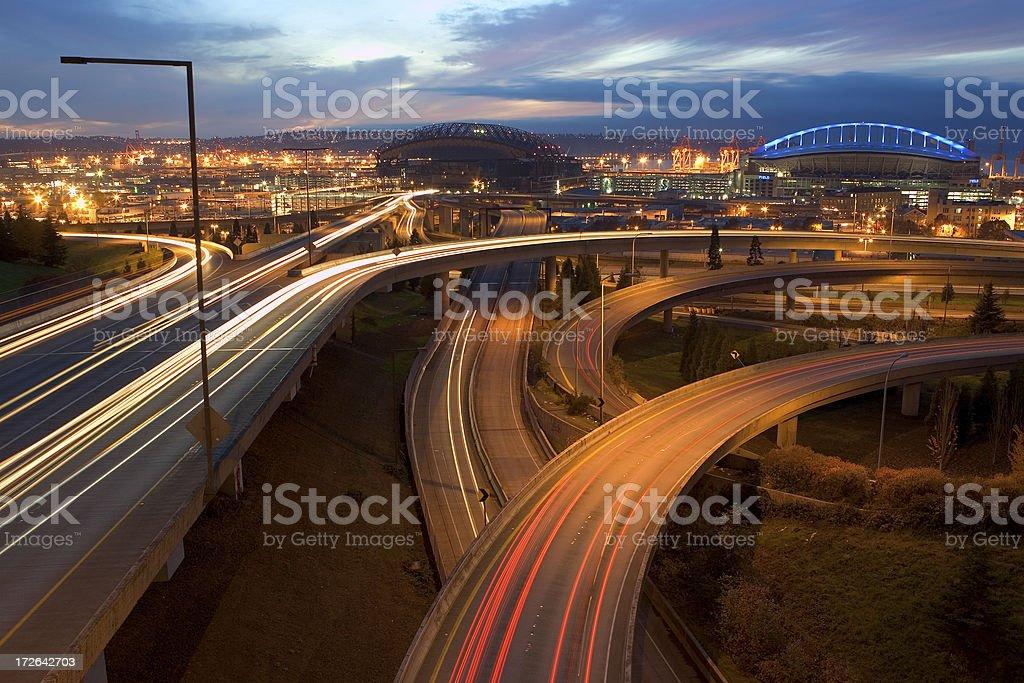 Urban Flow stock photo