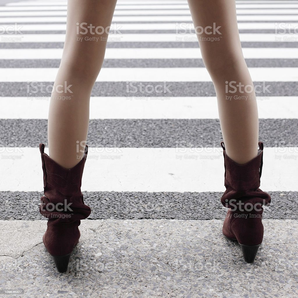 Urban Girl royalty-free stock photo
