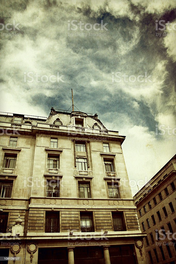 Urban Grunge in London royalty-free stock photo