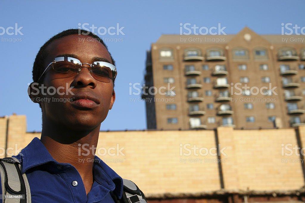 Urban Guy royalty-free stock photo