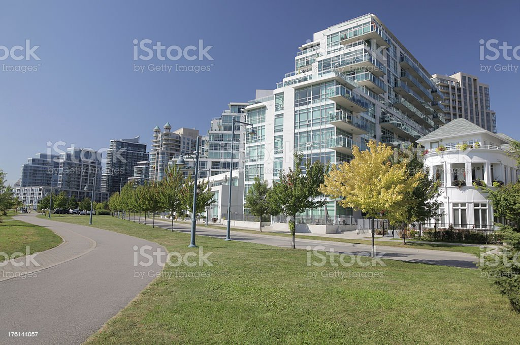 Urban Habitations royalty-free stock photo