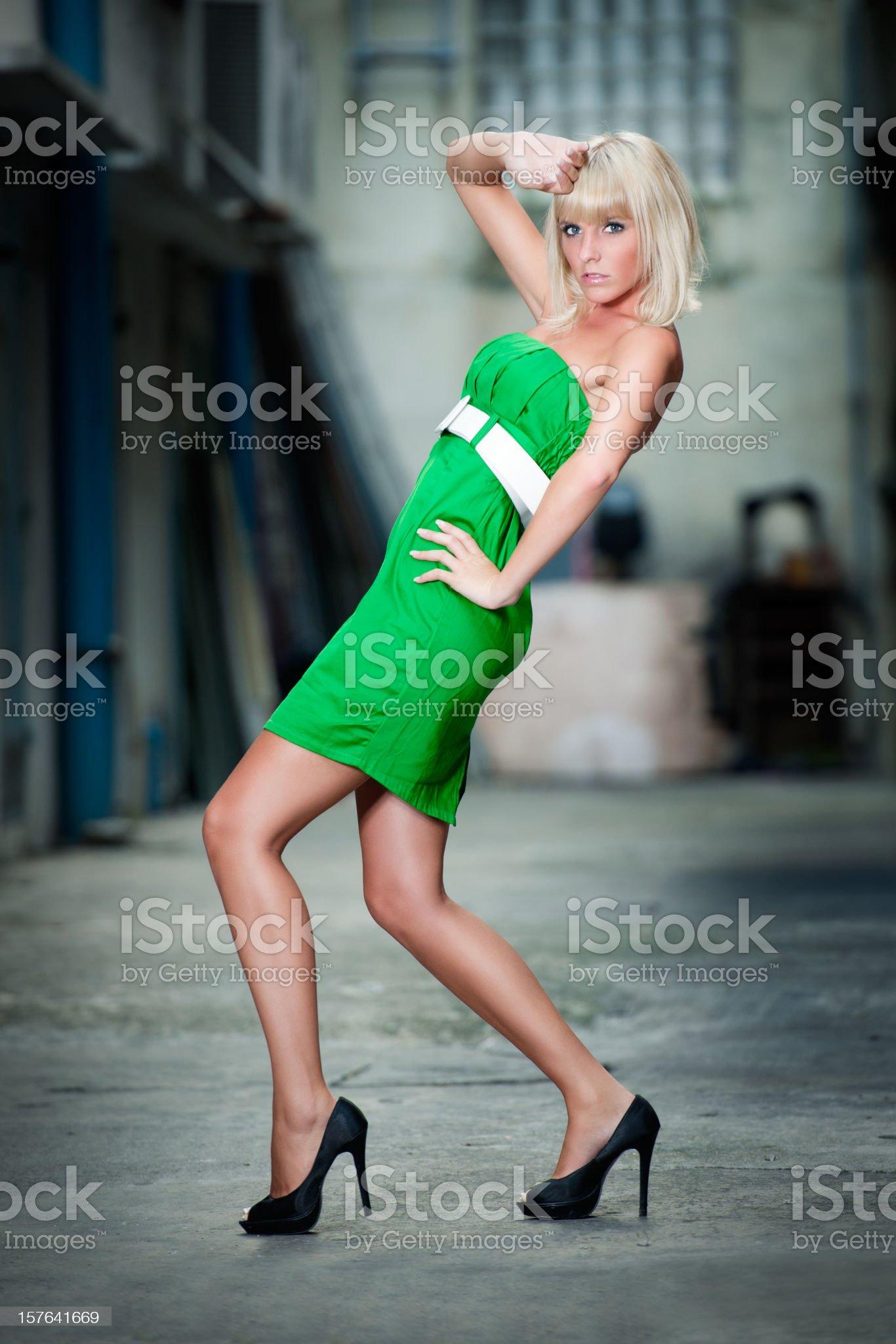 Urban Haute Couture (XXXL) royalty-free stock photo