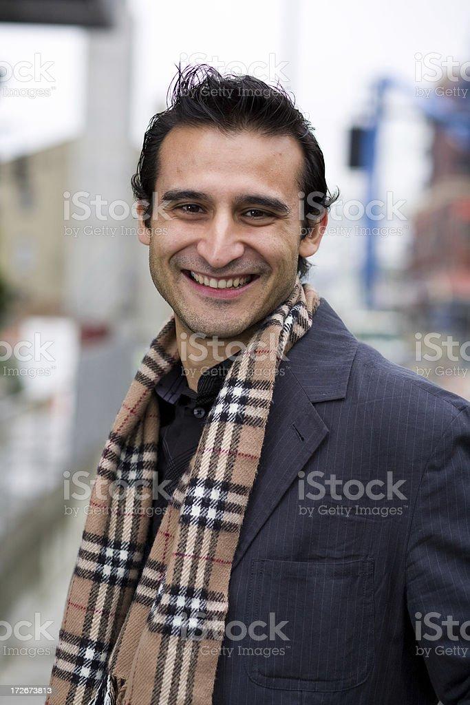 urban hispanic man portraits royalty-free stock photo