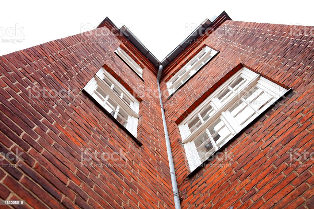 Urban Houses royalty-free stock photo
