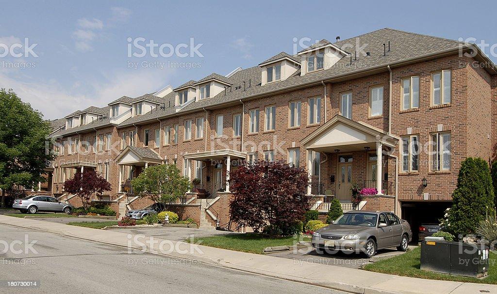 urban housing 5 royalty-free stock photo