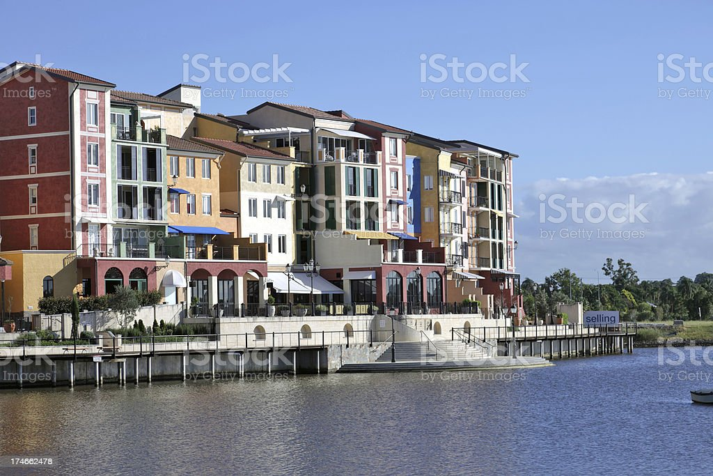 Urban housing apartments royalty-free stock photo
