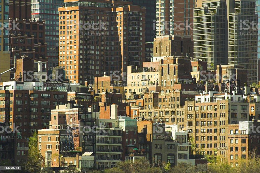 Urban Housing Market royalty-free stock photo