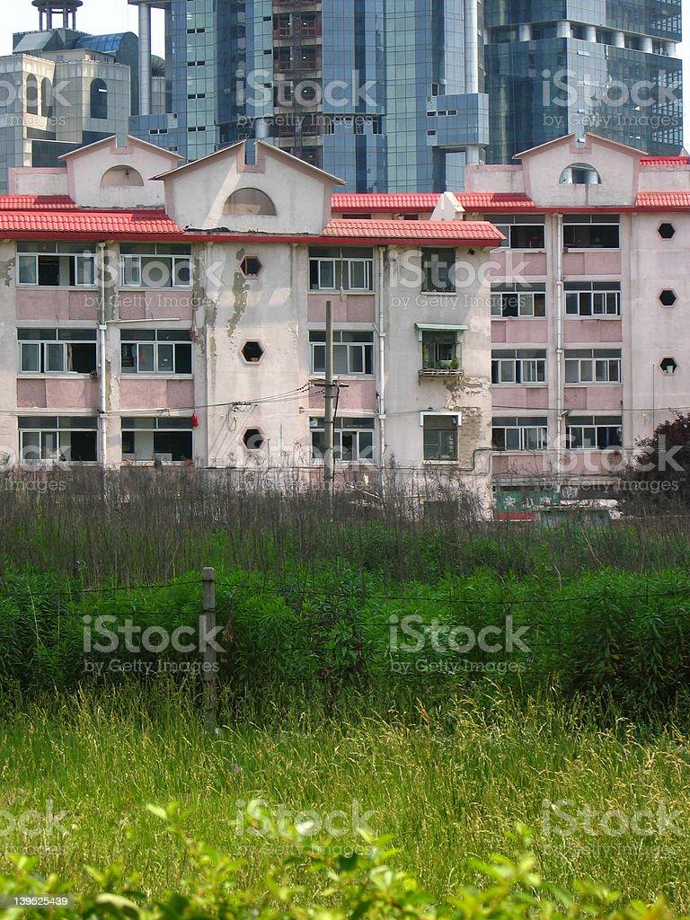 urban housing royalty-free stock photo