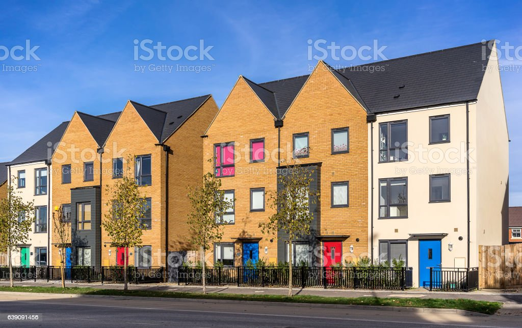 Urban housing stock photo