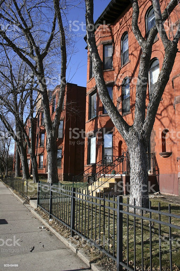 Urban Housing Units stock photo