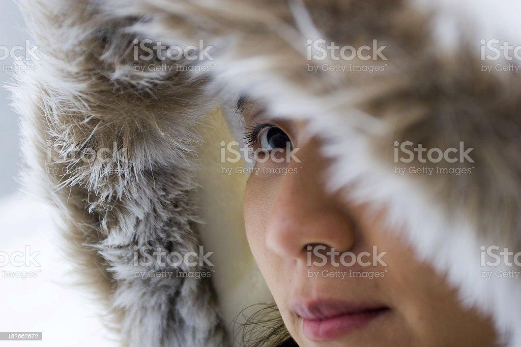 Urban Inuit royalty-free stock photo