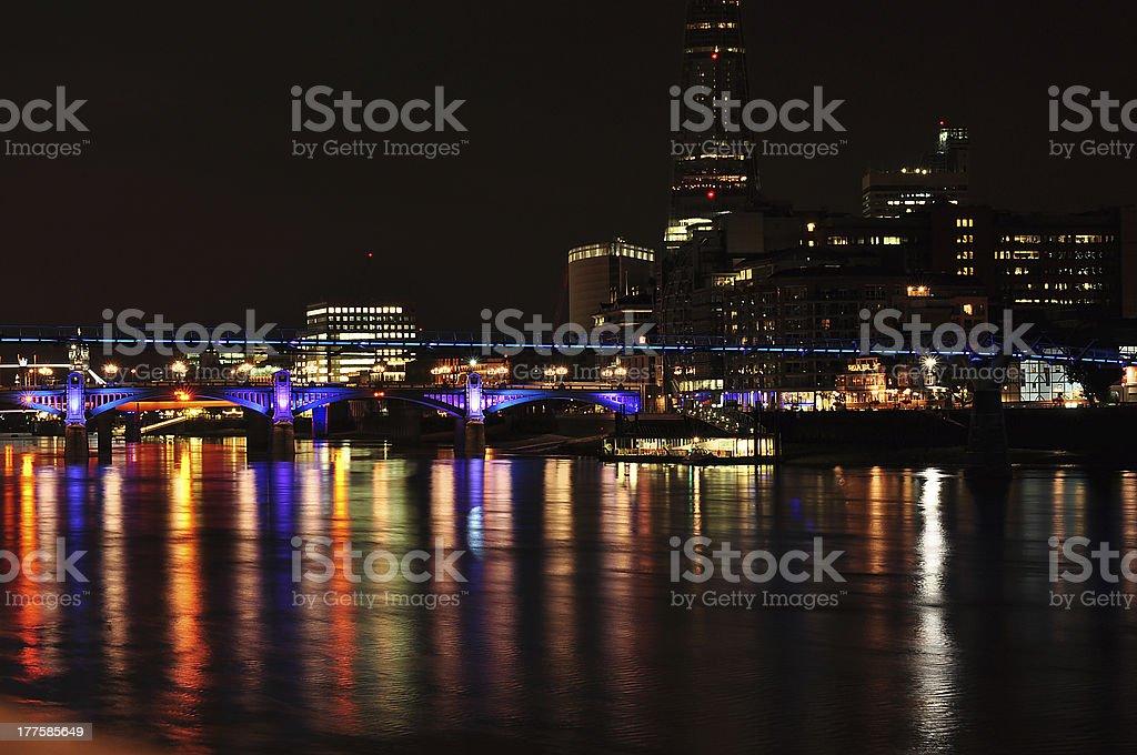 Urban London landscape royalty-free stock photo