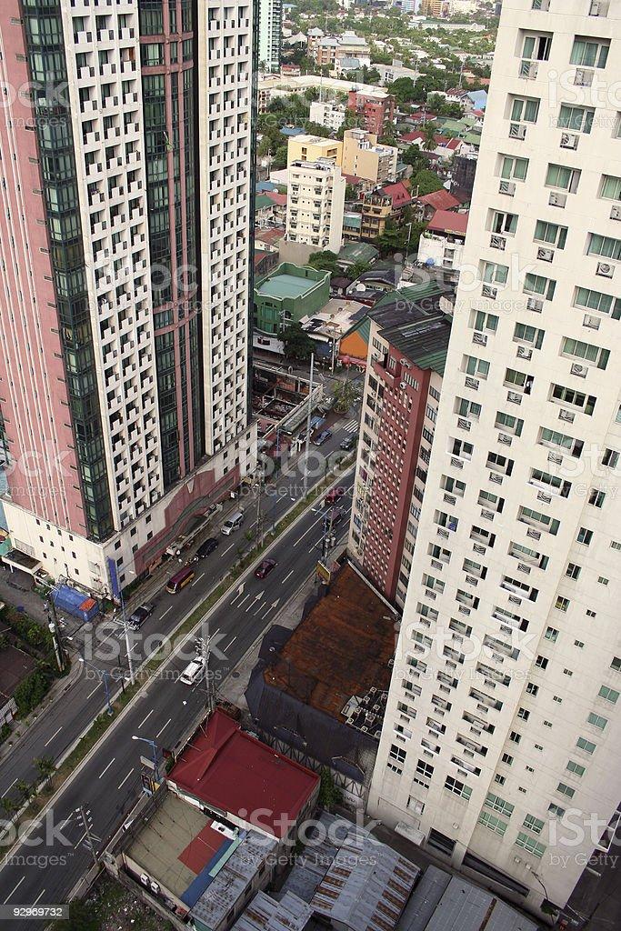 urban makati city manila philippines royalty-free stock photo