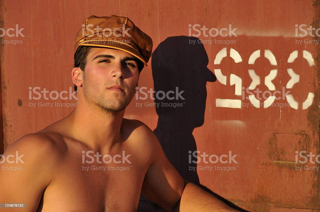 Urban Man stock photo