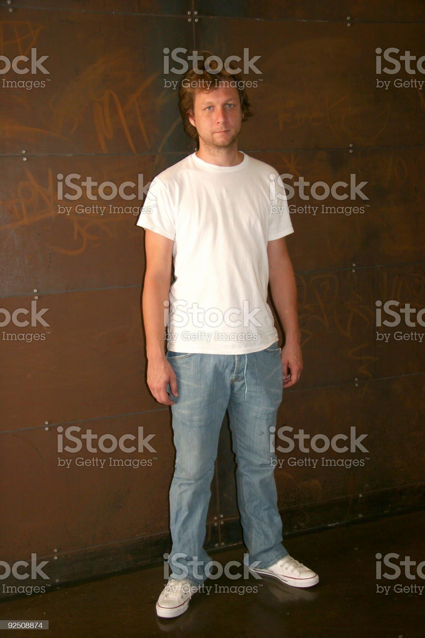 Urban Man royalty-free stock photo