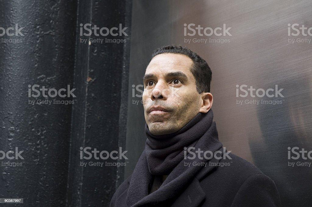 Ritratto di uomo di città foto stock royalty-free