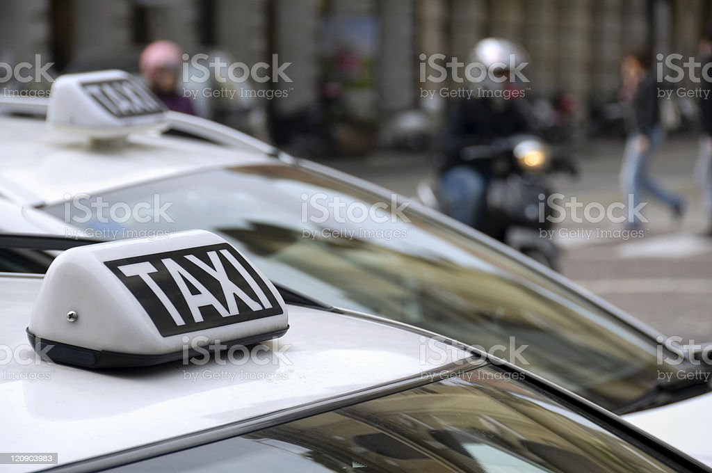 Urban mobility stock photo