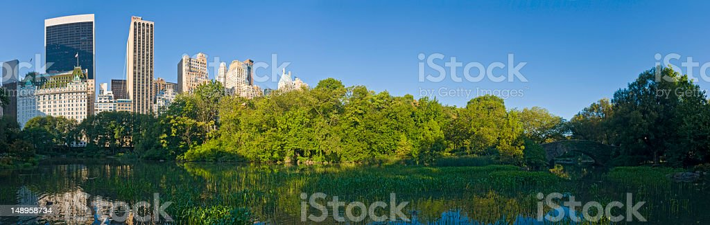 Urban oasis Central Park New York royalty-free stock photo