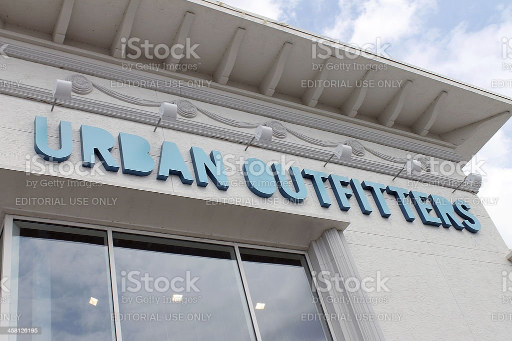 Urban Outfitters Exterior stock photo