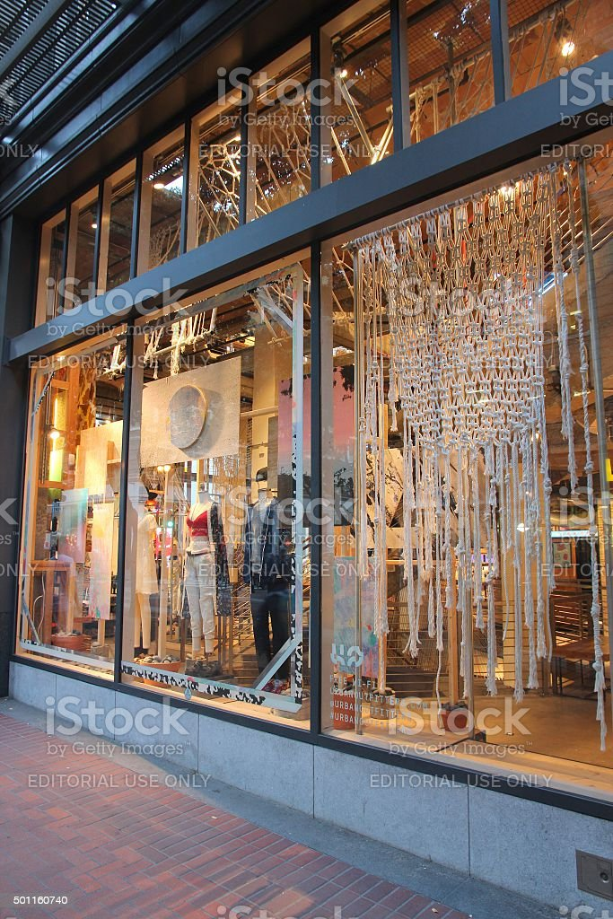 Urban Outfitters, USA stock photo