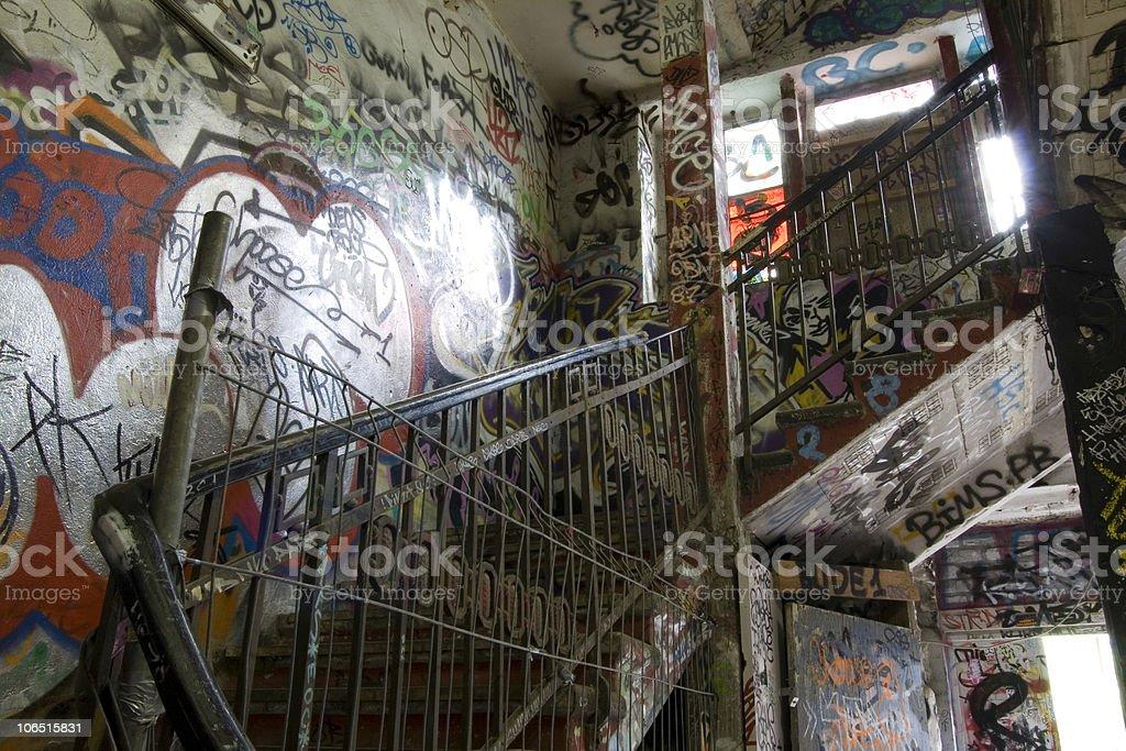 Urban place in Berlin stock photo