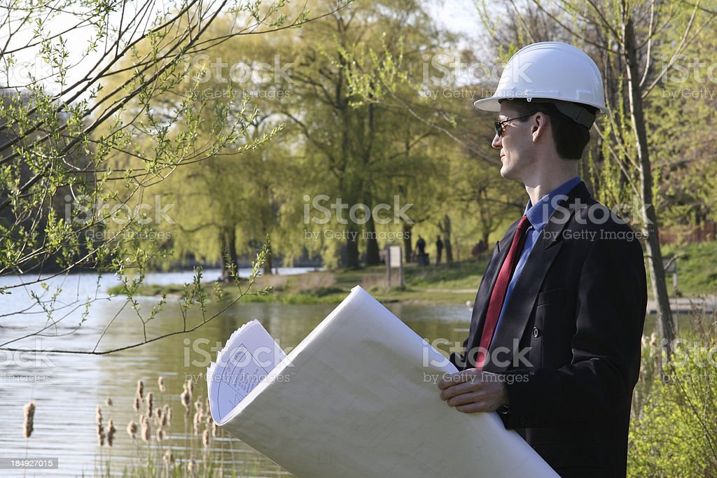 Urban Planner royalty-free stock photo