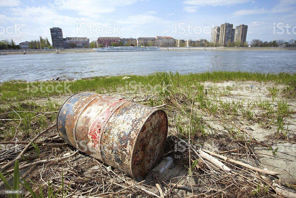 Urban Pollution royalty-free stock photo