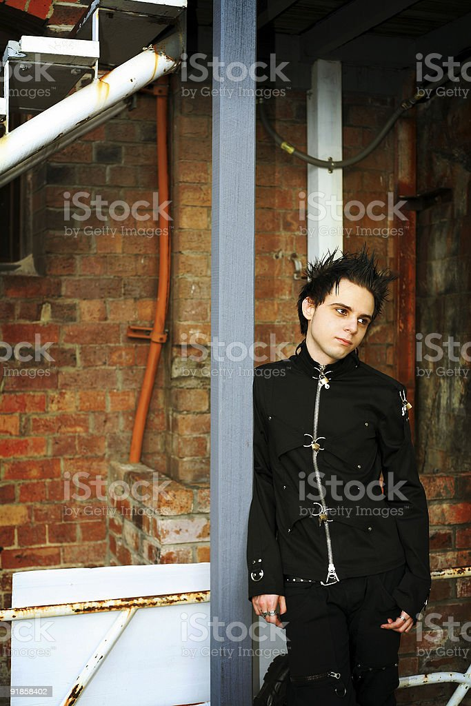 Urban Portrait stock photo