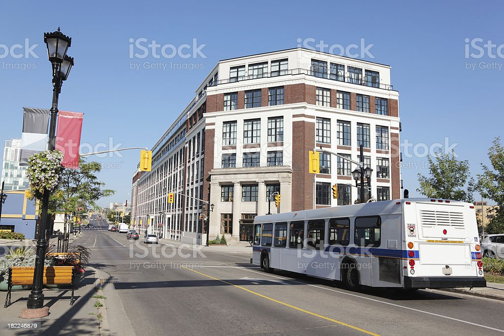 Urban Public Transport royalty-free stock photo
