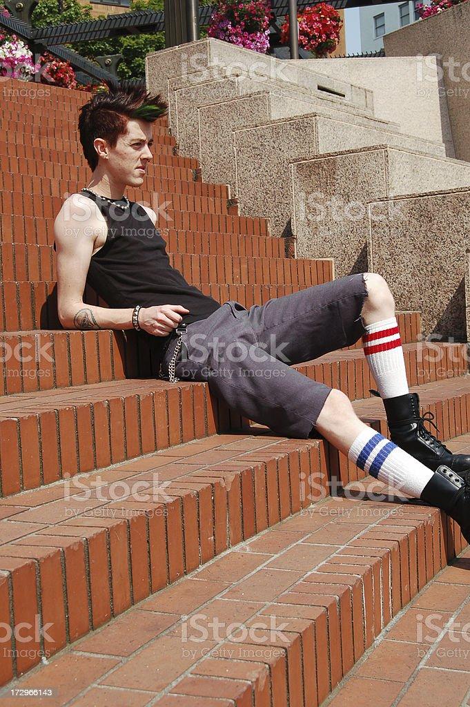 Urban Punk royalty-free stock photo