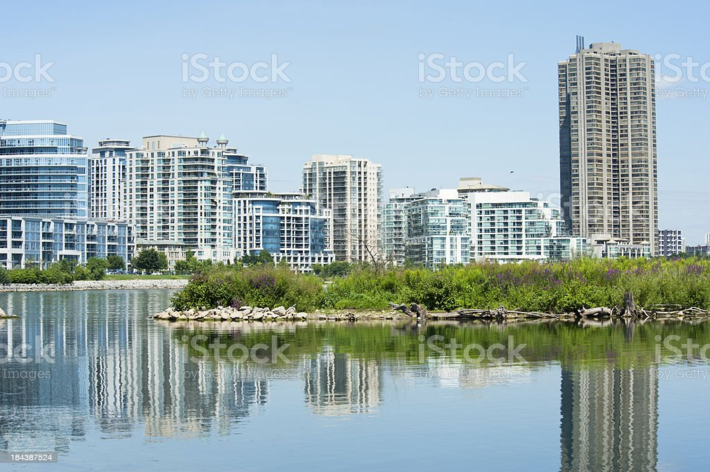 Urban Reflection stock photo