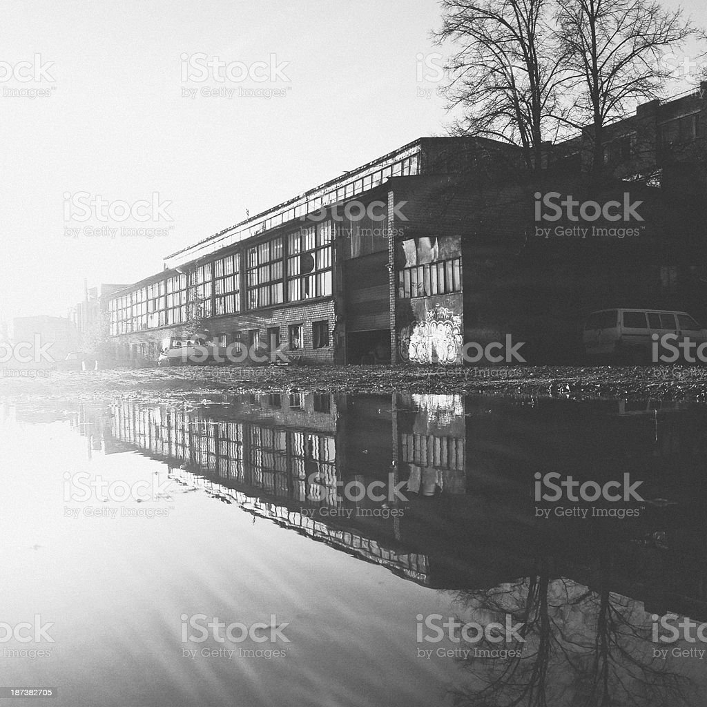Urban reflections. royalty-free stock photo