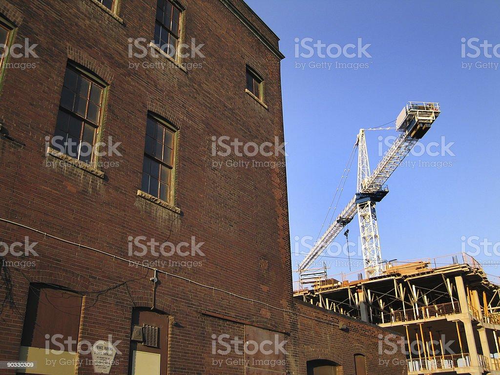 Urban Renewal royalty-free stock photo