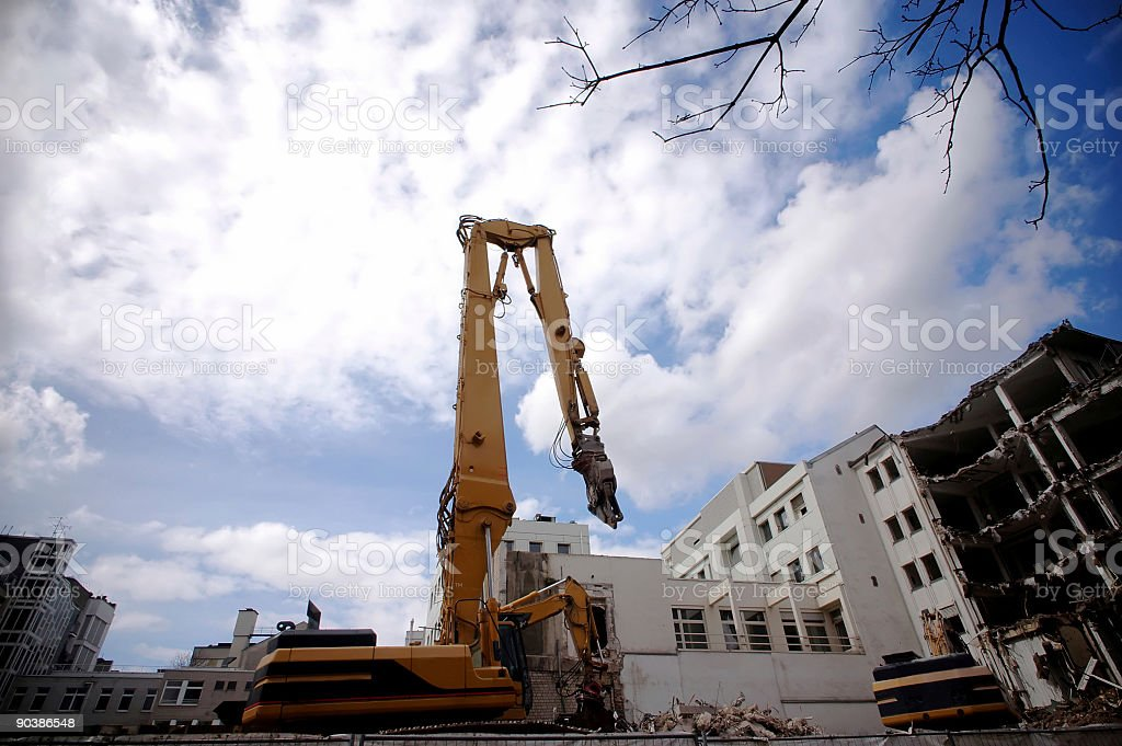 Urban Renewal stock photo