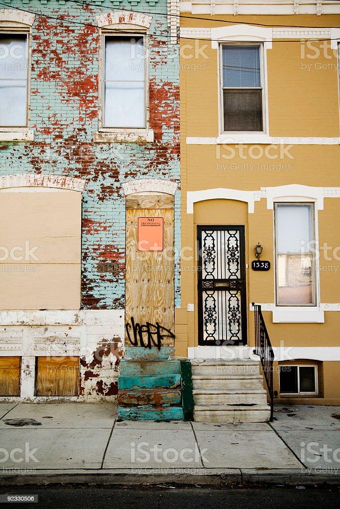 urban renewal stock photo
