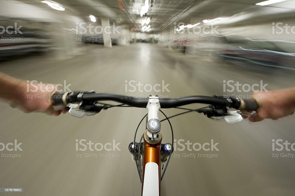 Urban Rider stock photo