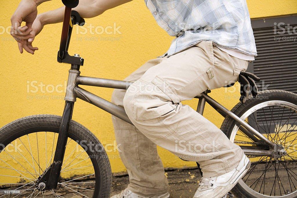 urban rider royalty-free stock photo