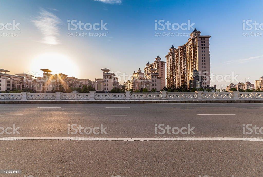 Urban Roads stock photo