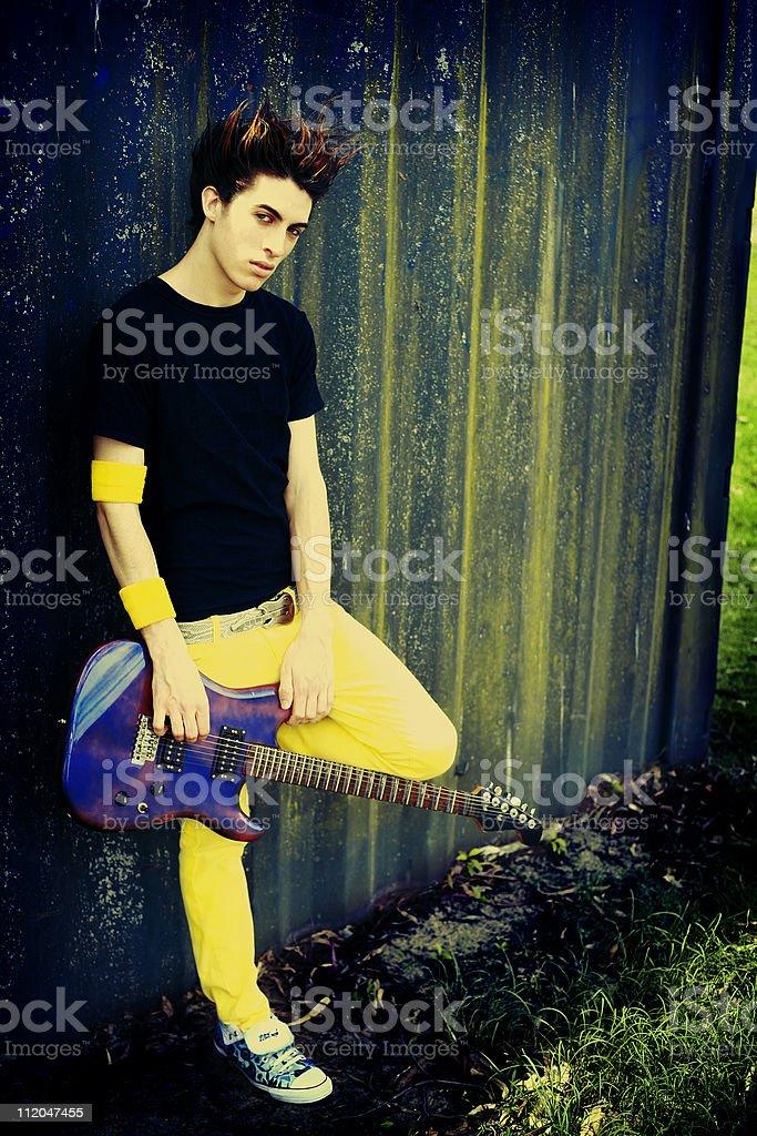 Urban Rocker royalty-free stock photo