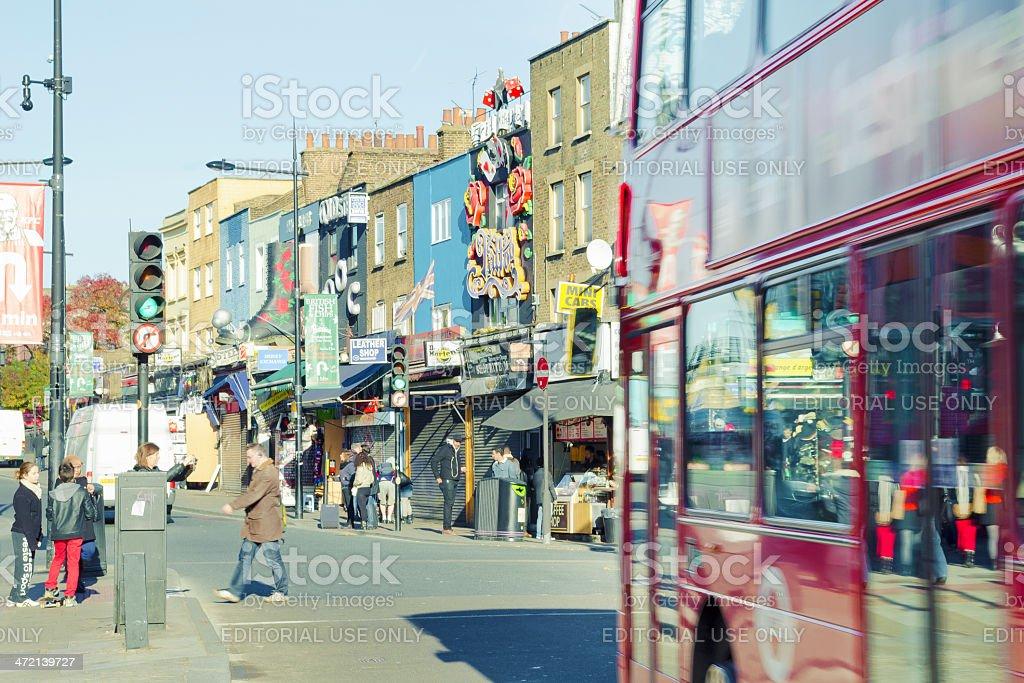 Urban Scene In Camden Town, London, UK stock photo