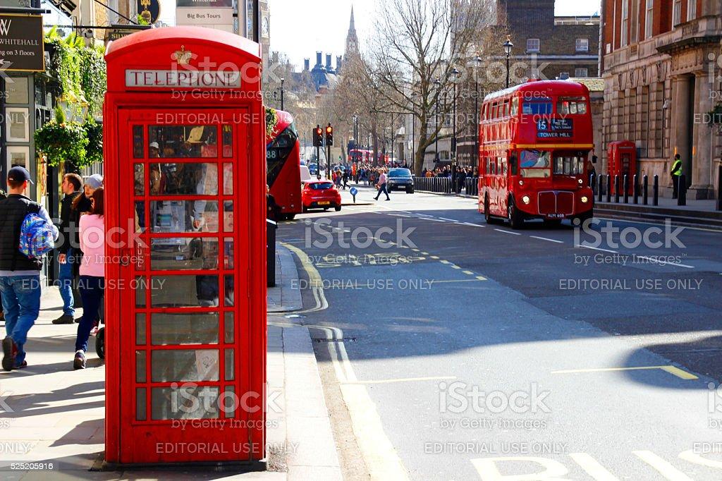 Urban scene of London royalty-free stock photo